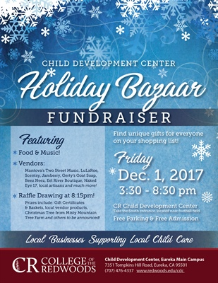 College of the Redwoods Child Development Center holds holiday fundraiser