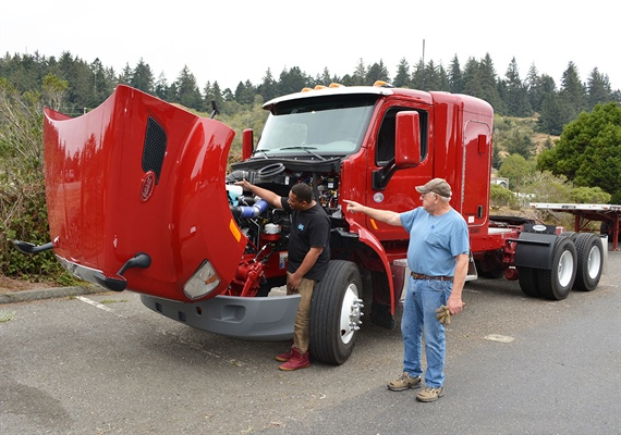 New Session - College of the Redwoods Truck Driver Training Program