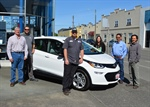 College of the Redwoods acquires new hybrid vehicle for training