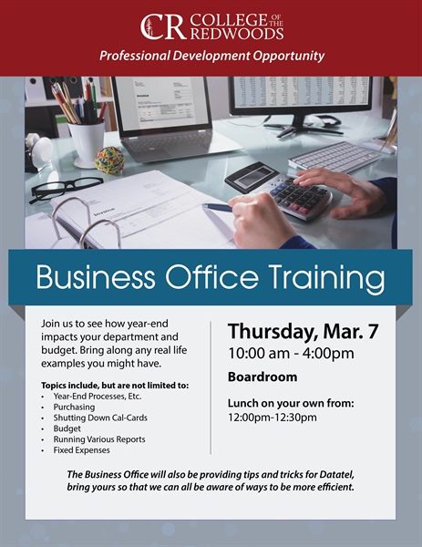 Business Office Training