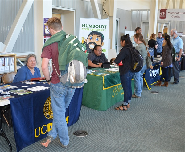 College of the Redwoods holds Transfer Day event