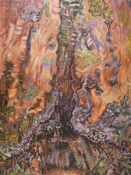 Trouble Under the Big Trees: Paintings by Linda MacDonald