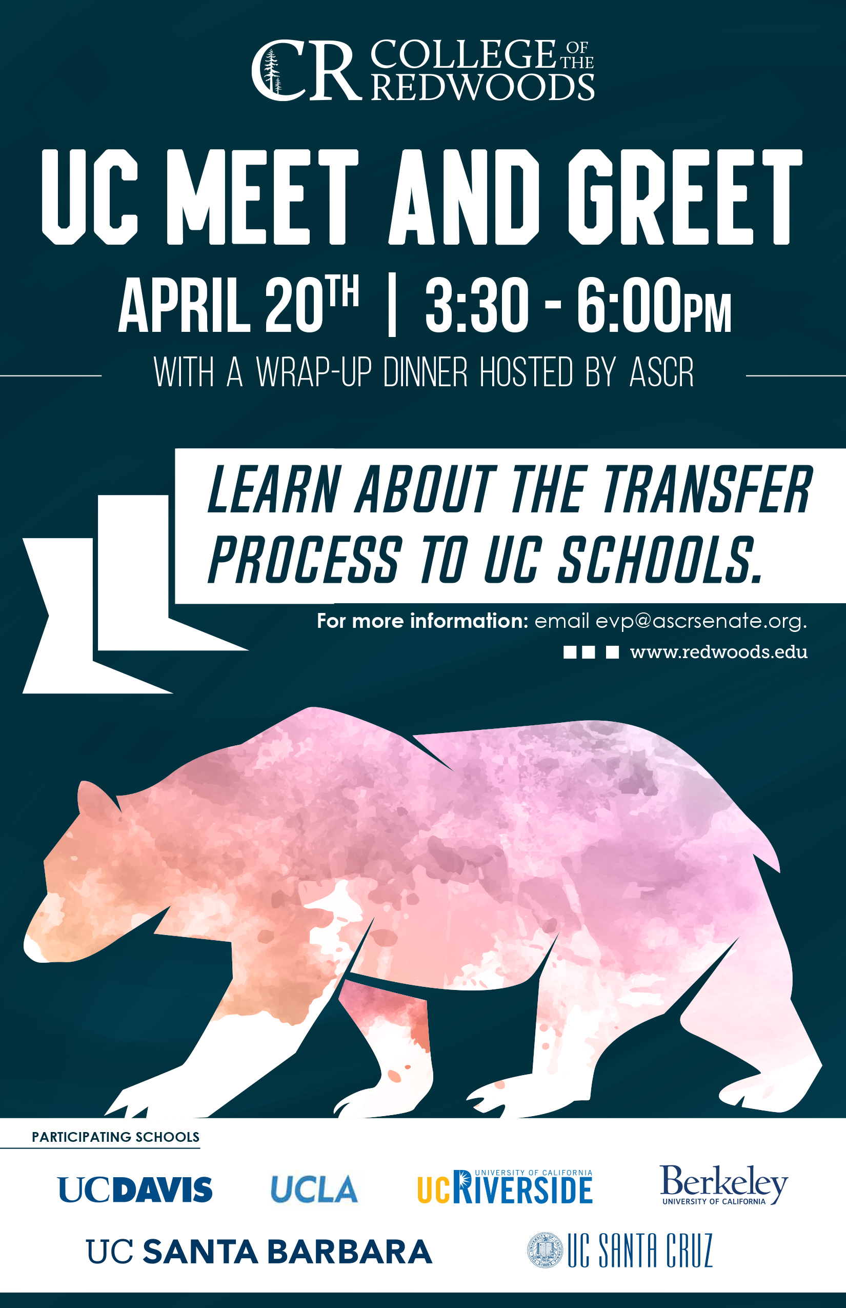 College Of The Redwoods Holds Uc Meet And Greet